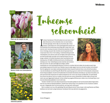 Gardeners world - april - inheemse planten